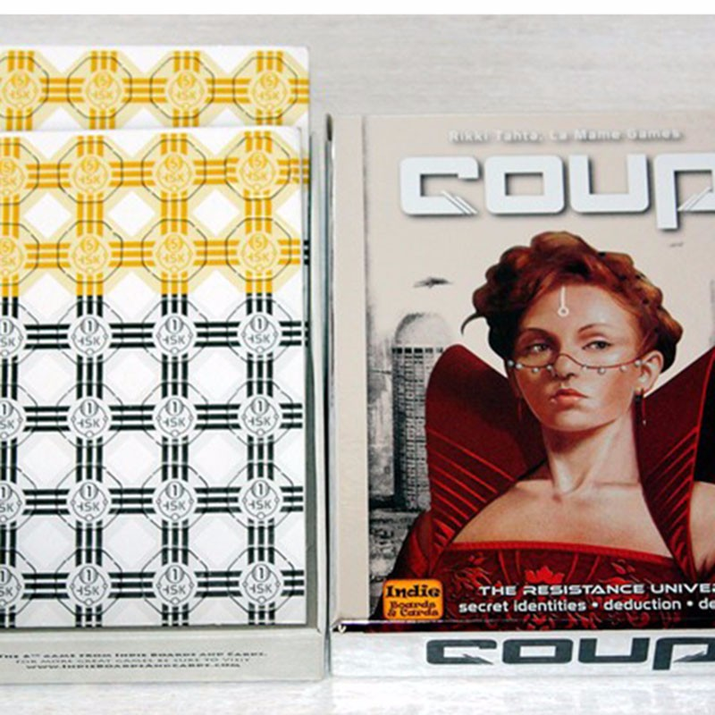 Coup game Full English Version for party family board game cards game