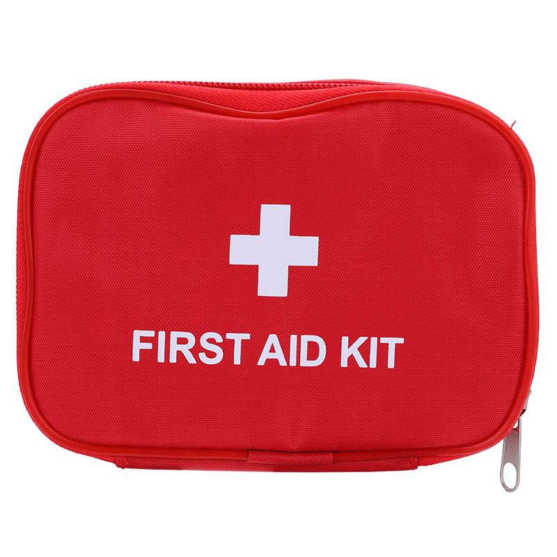 Outdoor Travel First Aid Kit  Mini  Car First Aid Kit Bag  Home Small Medical Box Emergency Survival Kit Size 15*10*4 CM