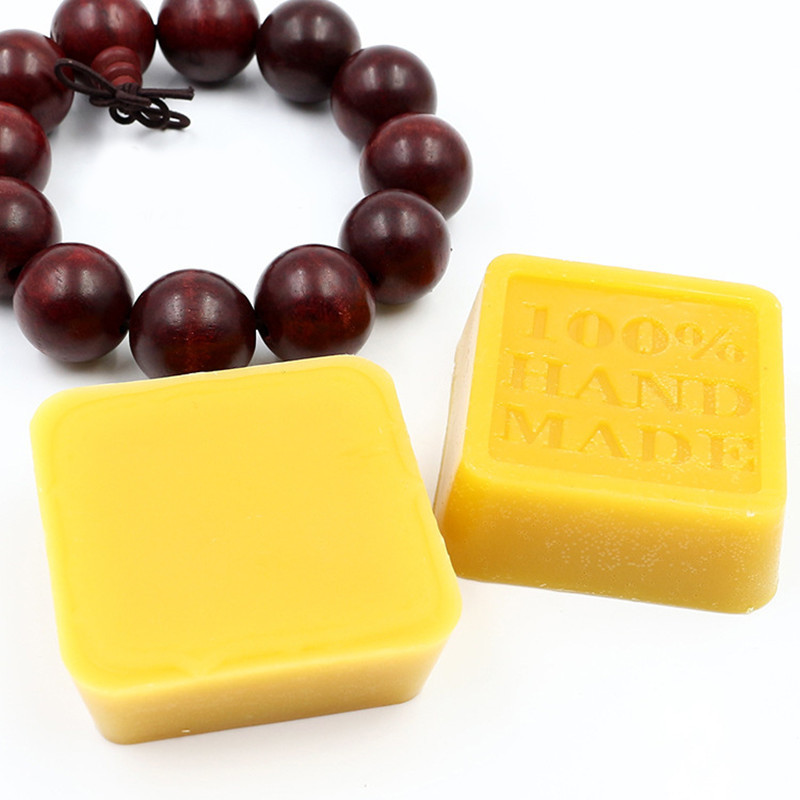 42g Hot Carving Wax Paste Yellow Organic Natural Pure Beeswax For Wood Furniture Floor Polishing Leather Maintenance Protect