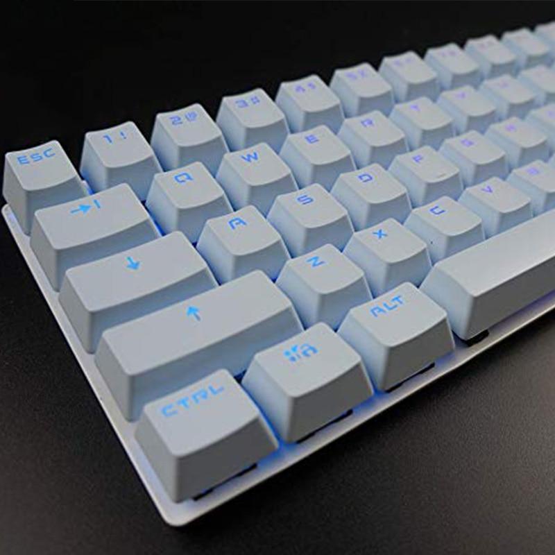 PBT Keycaps OEM High 87 104 Keys For Mechanical Keyboard Translucent Double Shot Keycap