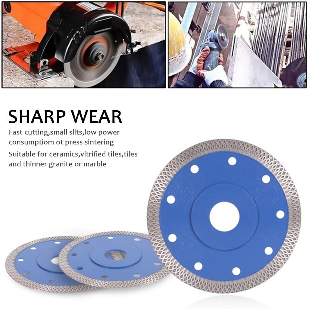 Saw Blade 115 MM Porcelain Tile Turbo Thin Diamond Dry Cutting Blade Grinder Wheel Disc Circular Saw Blade Drop Shipping