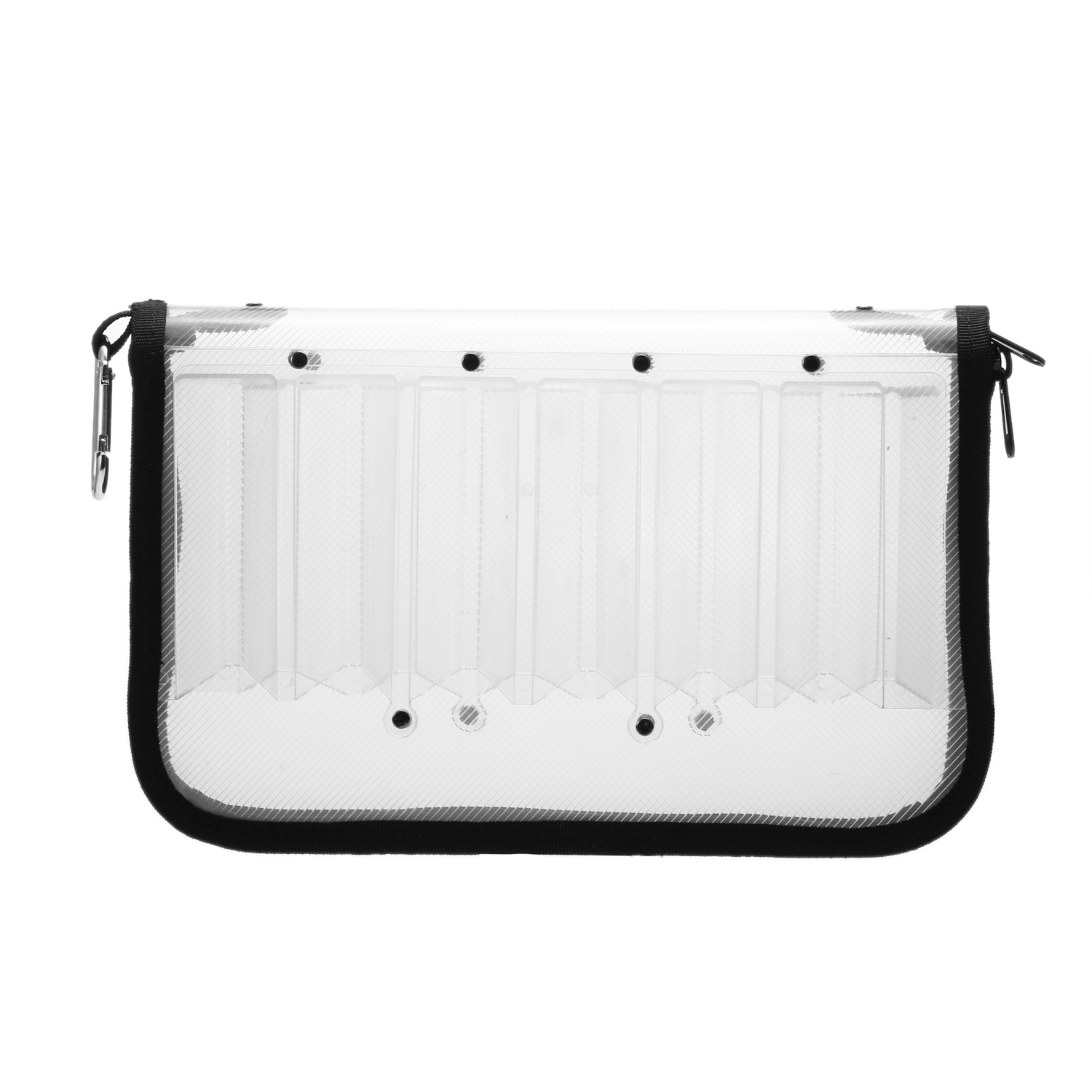 Double Sided Fishing Lure Tackle Box Case for <font><b>Squid</b></font> <font><b>Jig</b></font> Hooks Storage Box <font><b>Bag</b></font> Case 12 Compartments Waterproof image