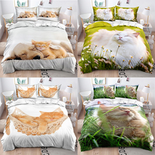 Bedding-Set Duvet-Cover Printed King Twin-Queen 3D for Teen Girls Ded Double