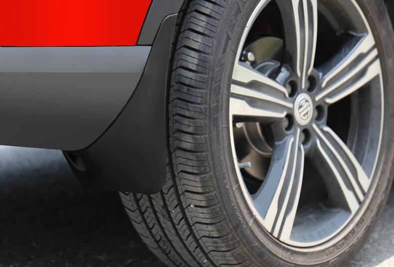 Protector de lodo de solapa de barro automático para MG ZS, pp, accesorios de automóvil, 4 unids/set. Ajuste para el coche Porsche 718 general de alta calidad de fibra de carbono falda lateral de estilo de coche 2 puertas Coupe faldas laterales Splitters Flaps E-Style