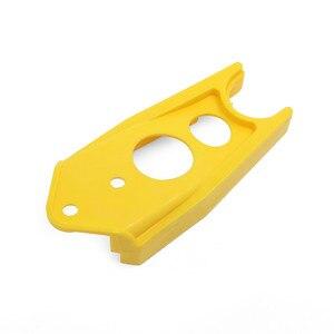 3 цвета мотоциклетная резиновая цепь направляющая слайдер Защитная крышка для Yamaha DT125 DT125R DT200 DT230 DT 125 200 230