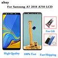 TFT/Amoled для Samsung Galaxy A7 2018 A750 A750F SM-A750F A750FN A750G ЖК-дисплей кодирующий преобразователь сенсорного экрана в сборе A750F