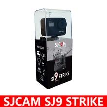 SJCAM Oryginalna kamera sportowa 4K SJ9 STRIKE, z ekranem dotykowym, z opcją nadawania na żywo, ze stabilizacją Gyro/EIS, wodoodporna, cyfrowa, DV