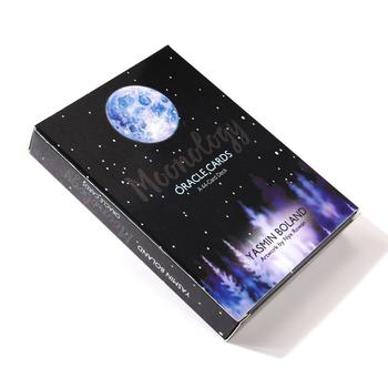 Moonology Oracle Tarot Cards Box Game English Tarot Deck Table Card Board Games Party Playing Cards Entertainment Family Games недорого