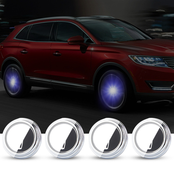For Lincoln 55mm Hub Light Car Floating Illumination Energy Wheel Caps LED Light Wheel Center Cap Center Cover Lighting Cap Auto