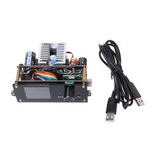 цена на Adjustable Voltage Power Supply Module 1.8 Color Screen LCD Display CNC DC Voltage Regulator Module