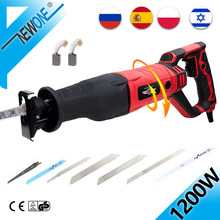 Reciprocating Saw Electric-Saw NEWONE Adapter-Blades Plasitic-Pipe Wood Metal 1050W AC