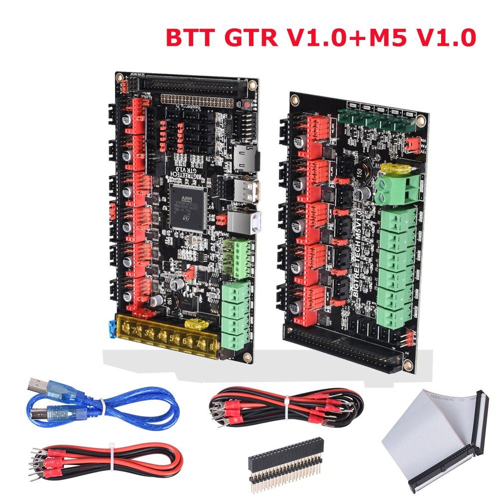 BIGTREETECH GTR V1.0 Control Board 32 Bit M5 V1.0 3D Printer Parts Vs SKR Pro MKS GEN L Ramps 1.4 TMC2208 TMC2209 TMC2130 Driver