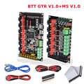 BIGTREETECH GTR V1.0 لوحة تحكم 32 بت M5 V1.0 أجزاء طابعة ثلاثية الأبعاد vs SKR Pro MKS GEN L Ramps 1.4 TMC2208 TMC2209 TMC2130 Driver