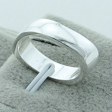 Wholesale Hot Sales 925 Silver Color Rings Jewelry Brand Fashion Simple Women Men High Quality Charm Woman