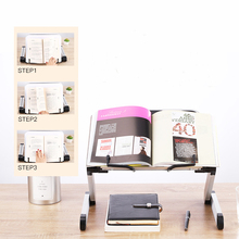 Adjustable Book Reading Stand Holder Foldable Bookend PC Support for Kids Adults Office School Supply Book Magazine Shelf