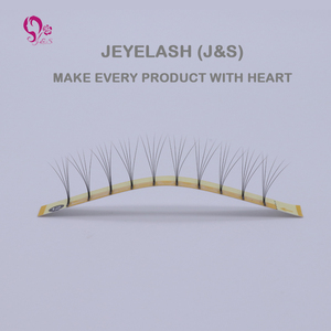 Image 3 - J&S 5pcs/lot New style 5D premade fans hand made fans eyelashes new arrival Eyelash extension 5D eyelashes makeup free shipping