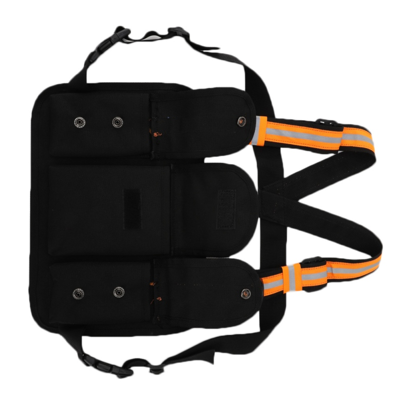 2019 New Reflective Chest Rig Bag Hunting Vest Harness Front Pack Pouch Holster Vest Rig Hip Hop Streetwear Functional Chest Bag