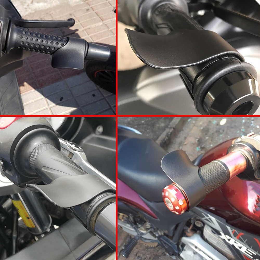 Descanso universal de pulso para motocicleta, auxiliar de controle de pegada no acelerador para moto kawasaki ninja 650r er6 f n w800 z750 zx 6 9r r r 400 600