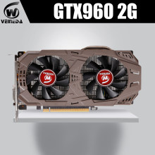 VEINEDA – carte graphique nVIDIA Geforce GTX 960, 2 go GDDR5, 1050 bits, originale