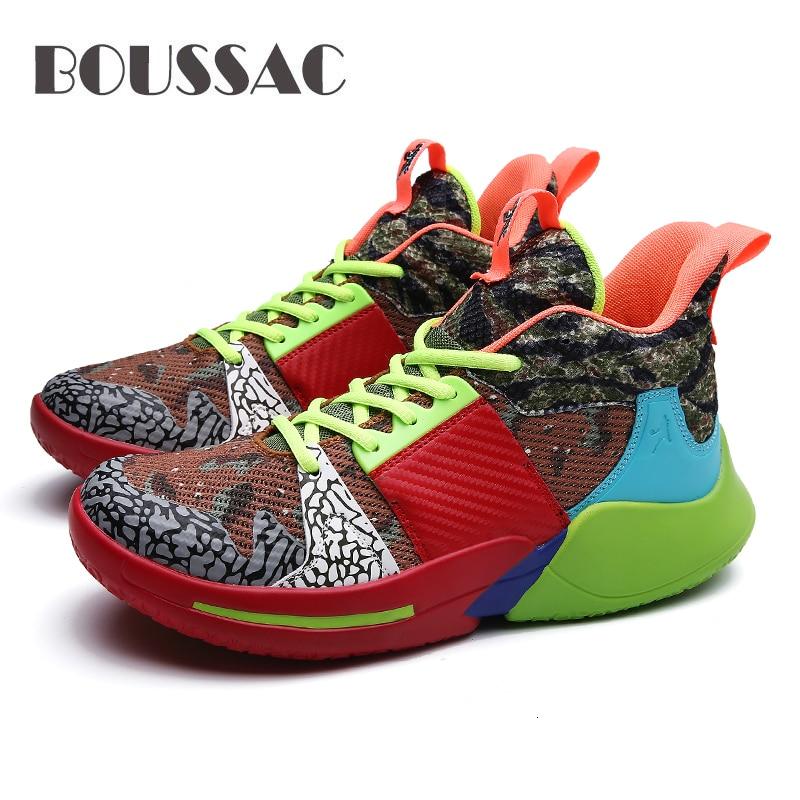BOUSSAC Men's basketball shoes non slip basketball shoes ankle boots sports shoes Zapatillas De Baloncesto Para Hombre|Basketball Shoes| |  - title=