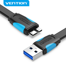 Vention Micro USB 3.0 Cable to Type A Micro B Cable Data Transfer Fast Charger Cable For Hard Drive Galaxy Note 3 Galaxy S5