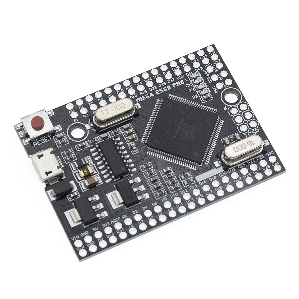 Image 5 - MEGA 2560 PRO Embed CH340G/ATMEGA2560 16AU Chip with male pinheaders Compatible for arduino Mega2560 DIY-in Integrated Circuits from Electronic Components & Supplies