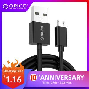 ORICO Micro USB Cable USB 2.0 Fast Data Sync Charger Cable for Samsung Galaxy Xiaomi HuaWei HTC LG Smartphones and More