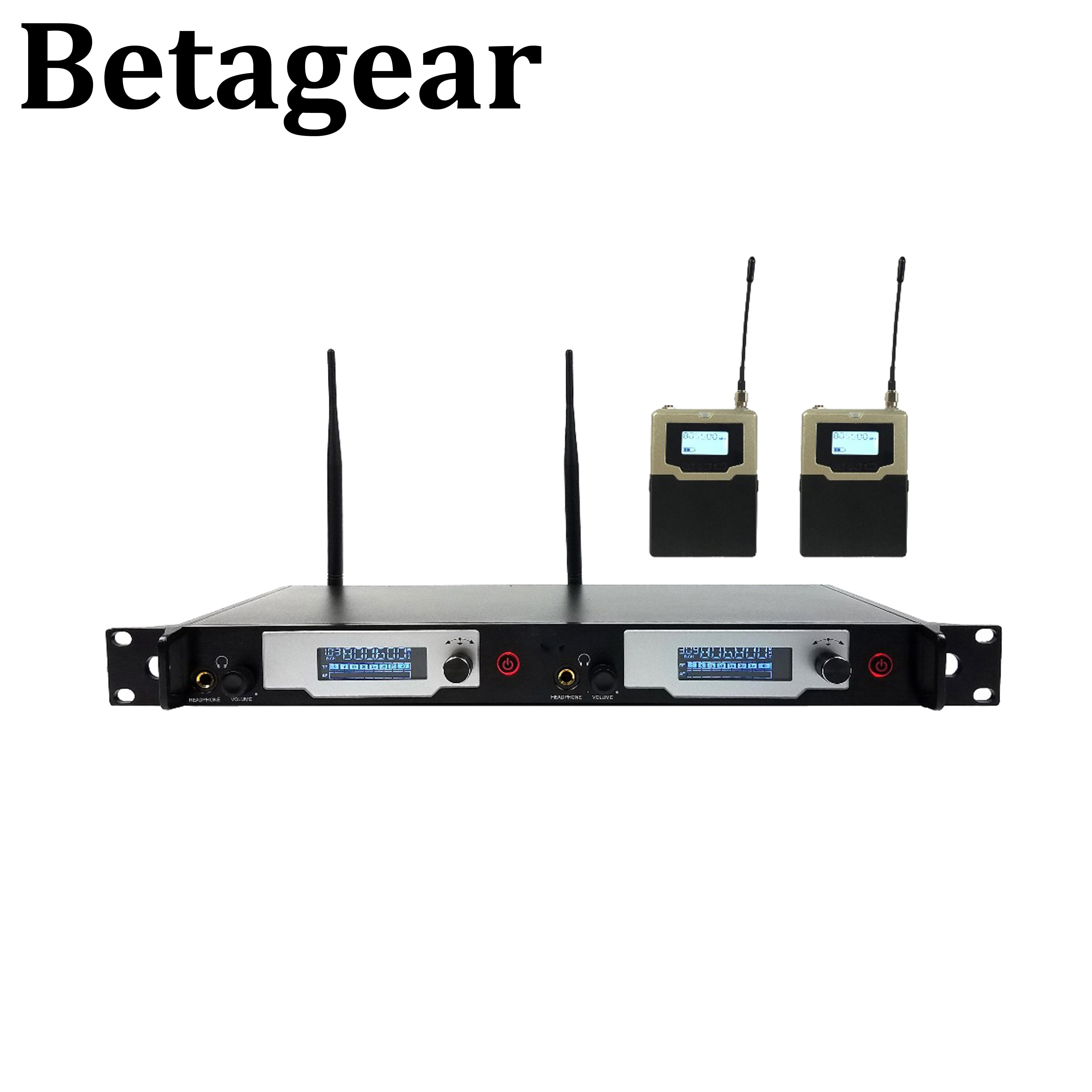 Betagear L9400 in ohr-monitor drahtlose system UHF IEM Bühne überwachung mono Professionelle Bühne Überwachung