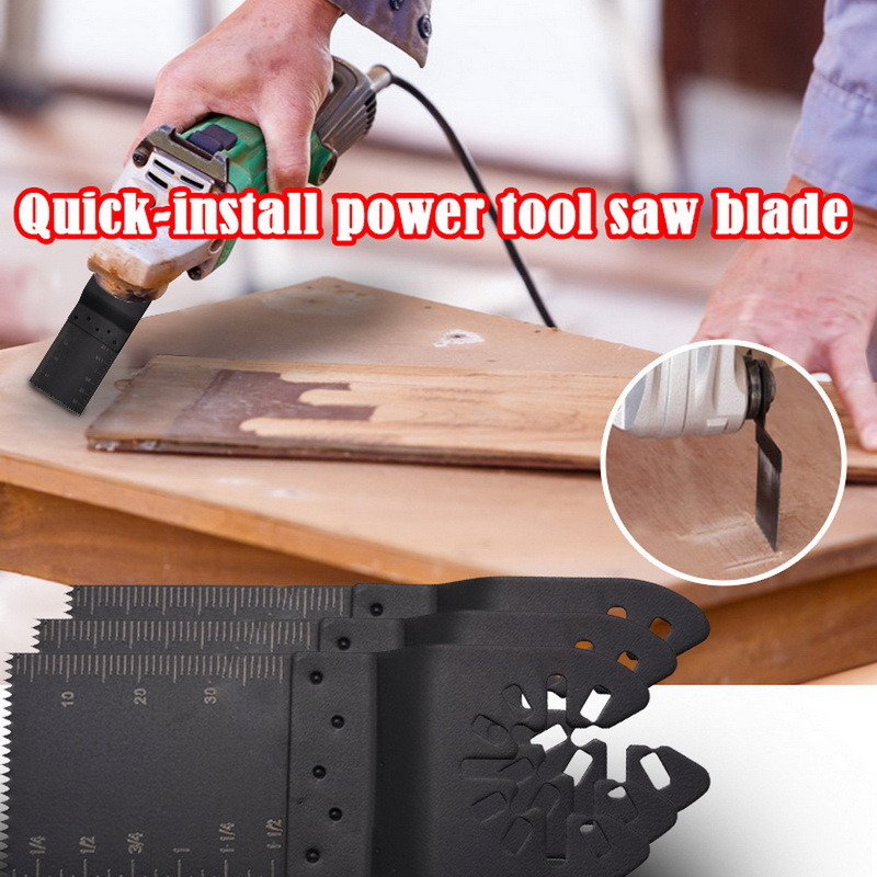 5/10/20/50Pcs 34mm Metal Wood Oscillating Blades Multitool Quick Release Electric Saw Blades Multifunction Machine Accessories