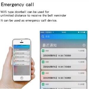 Image 4 - Linptech Wireless Doorbell Self Generating Smart Door Bell Transmitter Memory Function Wifi Version Connect Mijia APP