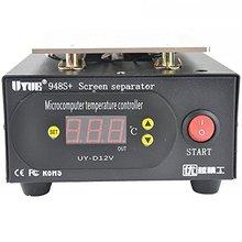 UYUE 948S+ экран сепаратор машина ЖК-Сепаратор Ремонт встроенный насос вакуумный ремонт мобильного телефона
