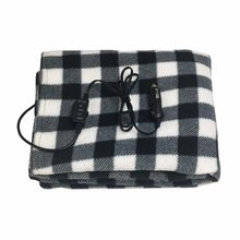 Car Electric Blanket Automotive 145*100cm New 12V Car Heating Blanket Lattice Energy Saving Warm Autumn And Winter(China)