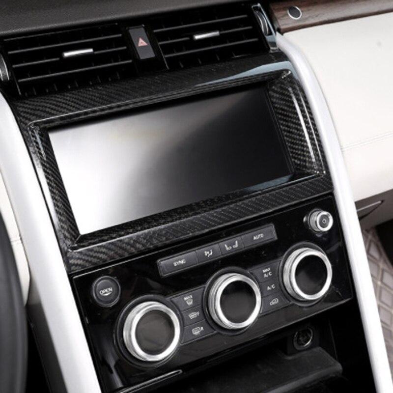 Карбоновая внутренняя навигационная рамка для Land Rover Discovery 5 Lr5 L462 2017 2018 автомобильные аксессуары