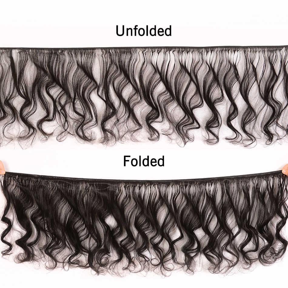 UNice Hair Kysiss Series Loose Wave Malaysian Hair Bundles With Closure Unprocessed Virgin Hair Bundles Natural Color