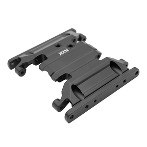 Image 2 - KYX Racing Gearbox Bottom Base Mount Middle Skid Plate Upgrades Parts Accessories for RC Crawler Car Axial SCX10 II 90046