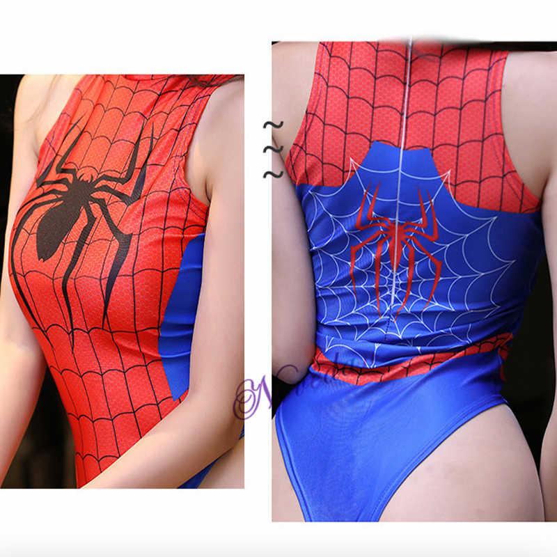 D.VA تأثيري حلي أنيمي ملابس السباحة النساء مثير ثوب سباحة مثير ارتداءها بدلة خارقة ثلاثية الأبعاد