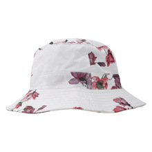 2019 Summer Newest Fashion Brand Casual Sun Hat Beach Party Print Flower Pot Cap Cotton Novelty High Quality Foldable