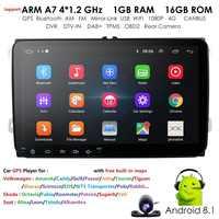 """Android 9.0 9 """"2din DVD de voiture pour POLO GOLF 5 6 POLO PASSAT B6 CC TIGUAN TOURAN EOS SHARAN SCIROCCO CADDY avec 4G GPS Navi"""