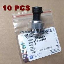Oem # d1846a 12616646 do sensor do assy do interruptor de pressão do óleo 10x para buick chevy chevrolet trailblazer tahoe gmc 4.8l 5.3l 6.0l 5.7l 6.2l