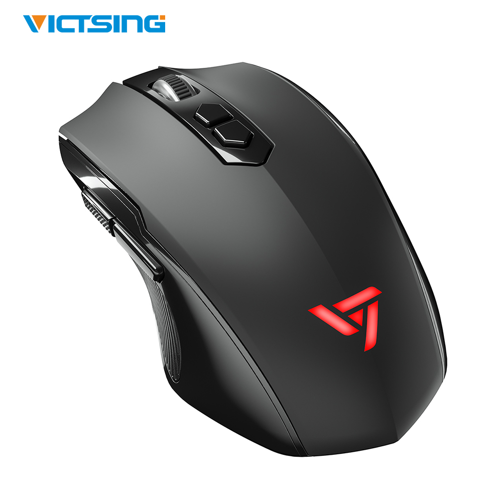 VicTsing Wireless Gaming Mouse With Silent Click 2400 DPI High Precision 5 Adjustable DPI Optical Sensor PC Laptop Gaming Mouse