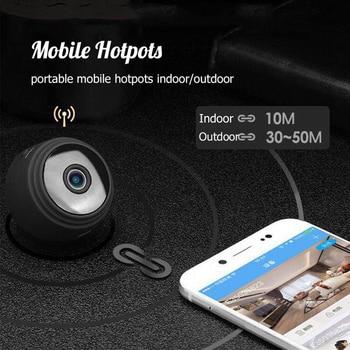 Wireless Hidden Monitor Mini IP WIFI Camera New 4