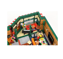 NEW 10189 4294Pcs City Street View Series Central Perk Big Bang Theory modular Building Blocks Bricks Kids Toys Christmas gift