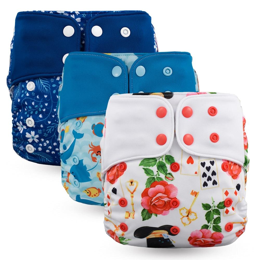 Водонепроницаемый детская Пеленка из моющейся ткани Многоразовые Высокое качество Новый стиль оснастки карманные подгузники на возраст от 4 до 16 лет кг многоразовые подгузники|Детские подгузники|   | АлиЭкспресс