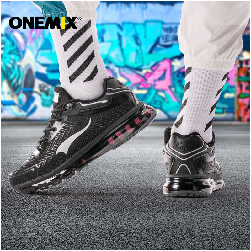 Onemix Men/'s  Fashion  Running Shoes  Breathable Sneakers Authentic Gym Trainers