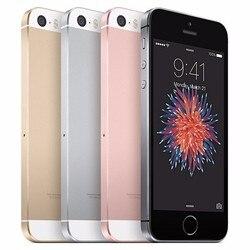 IPhone usado Original desbloqueado Apple IPhone SE huella digital Dual-core 4G LTE Smartphone 2GB RAM/16/32/64/128GB ROM Touch ID teléfono