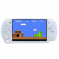16 Bit 4.3 Inch Retro Handheld Game Console, 8GB Vintage Classic Games Machine, TF Card MP4/ 5 Player
