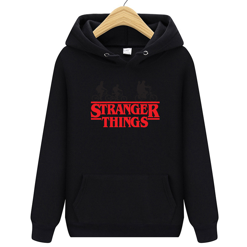 Men Women Fashion Hoodie Stranger Things Letter Printed Casual Sweatshirt 2019 New Male Female Hoody Free Shiping