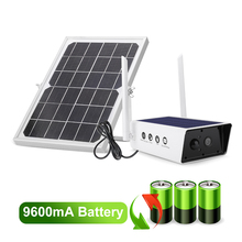 1080P Solar Security Surveillance Camera Outdoor Camera Solar IP Camera 2MP Waterproof 9600mA battery IR Night Vision PIR