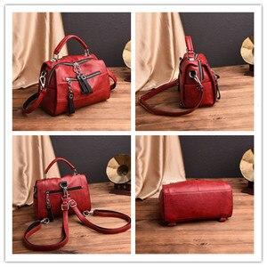 Image 2 - Fashion Leather Handbags Women Bags Designer Shoulder Crossbody Handbag Women Large Capacity Tote Messenger Bag Bolsa Sac A Main