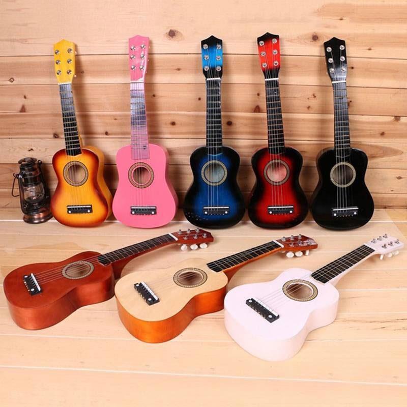 Kids Toys Guitar Amusing Intellectual 8 Colors 21